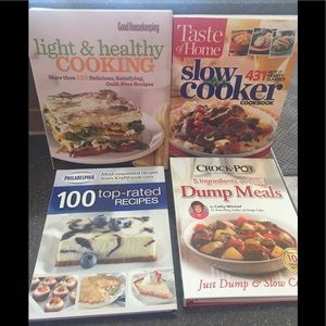 Excellent condition: Lot of 4 cookbooks.